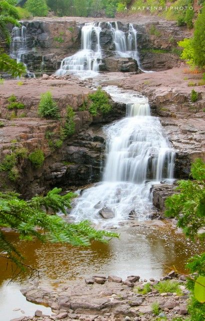 wildly simple: Gooseberry Falls State Park, Minnesota