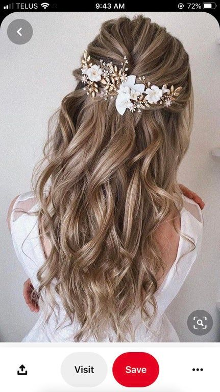 I love this hair pin, but I can't find where to get it. Does anyone recognize this hair pin or can suggest a similar one? : weddingplanning
