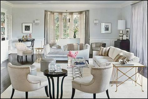 old hollywood glamour decor | Hollywood glam living rooms ...