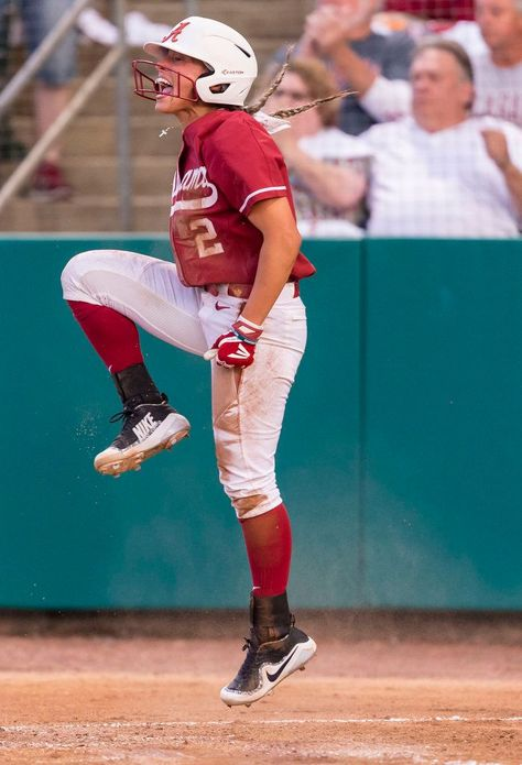 Alabama softball shuts down Tennessee Softball Photos, Softball Gear, Softball Memes, Softball Workouts, Softball Uniforms, Softball Problems, Softball Cheers, Softball Drills, Softball Crafts