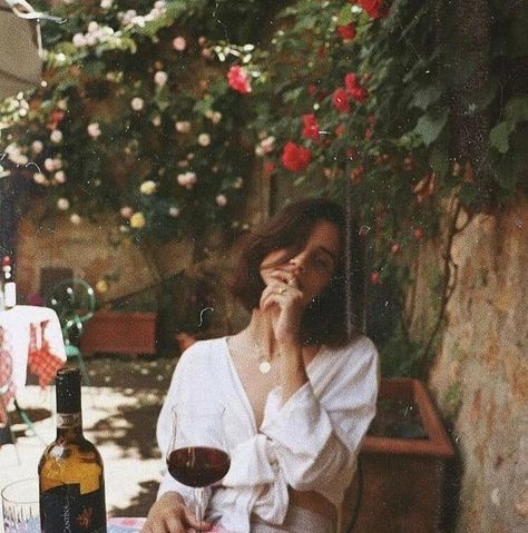 Life is meant to be spent in courtyards with flowers an red wine. #mood #moodboard #moody #vibes #flowers #romantic #whimsical #Europe #green #colorscheme #designinspo #designinspiration #bontemps