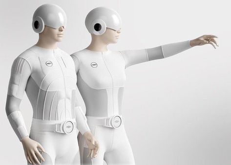 Teslasuit: This Full Body Suit Lets You Feel Virtual Reality   A UK based company elevates the VR experience with an EMS integrated suit that lets users feel the VR environment they are in. [Virtual Reality: http://futuristicnews.com/tag/virtual-reality/]