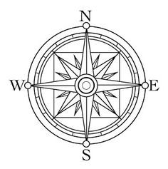 Image Result For Compass Rose Coloring Page Rose Coloring Pages Compass Drawing Compass Rose
