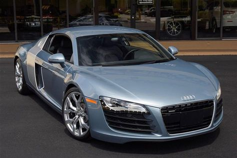 2009 Audi R8  2009 AUDI R8 FINISHED IN JET BLUE METALLIC OVER BLACK LEATHER INTERIOR. THIS AUDI COMES EQUIPPED WITH A 420 HORSEPOWER 4.2 LITER V8, 6-SPEED MANUAL TRANSMISSION, 19 INCH POLISHED ALLOY WHEELS, OXYGEN SILVER SIDE BLADES, POWER HEATED SPORT SEATS, SATELLITE RADIO, REMOTE CD CHANGER, CRUISE CONTROL, CONCERT RADIO, PLUS ALL STANDARD EQUIPMENT. #audi #r8 #leather #hotwheels