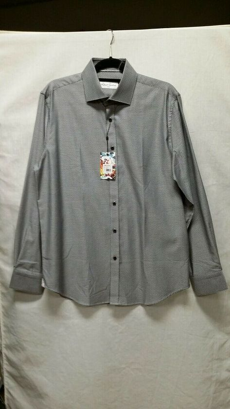NWT Robert Graham men/'s M,L,2XL long sleeve button down shirt,floral Jac Classic