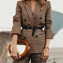 Danielle Hastings Plaid Suits For Fall: Photojournal - Damen Mode 2019