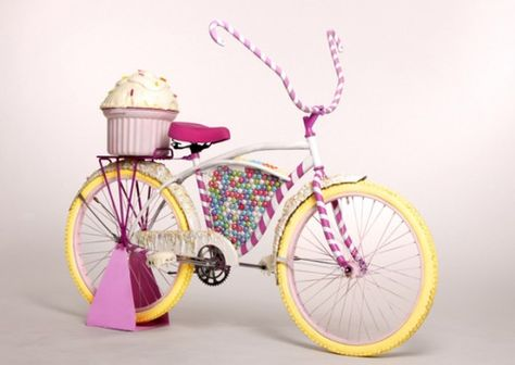 Cupcake fiets!