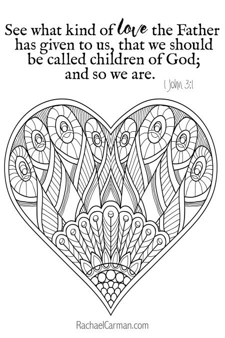 1 John 3 1 Christian Coloring Free Coloring Pages Coloring Pages
