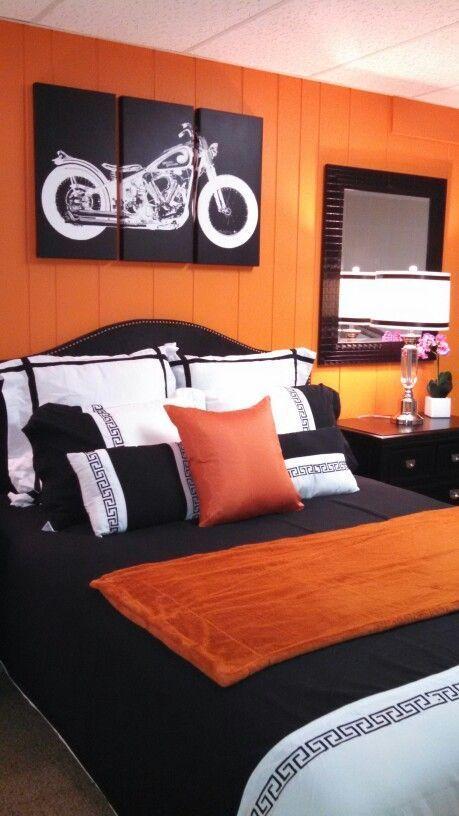 Most Up To Date Screen Bedroom Teenage Orange Ideas Bedroom Orange Black Room Decor Bedroom Makeover Modern orange bedroom ideas