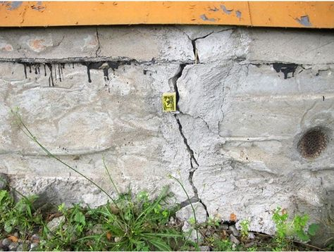 In this article we discuss how to fix a cracked foundation with your own hands, determining the causes of damage and eliminating them.