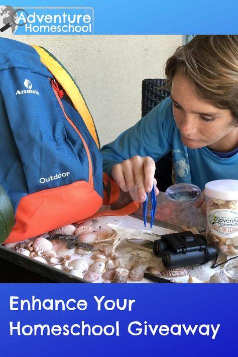 Enhance Your Homeschool Giveaway Adventure Unitstudies Homeschool