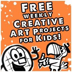 FREE Weekly Art Projects for Kids!!!