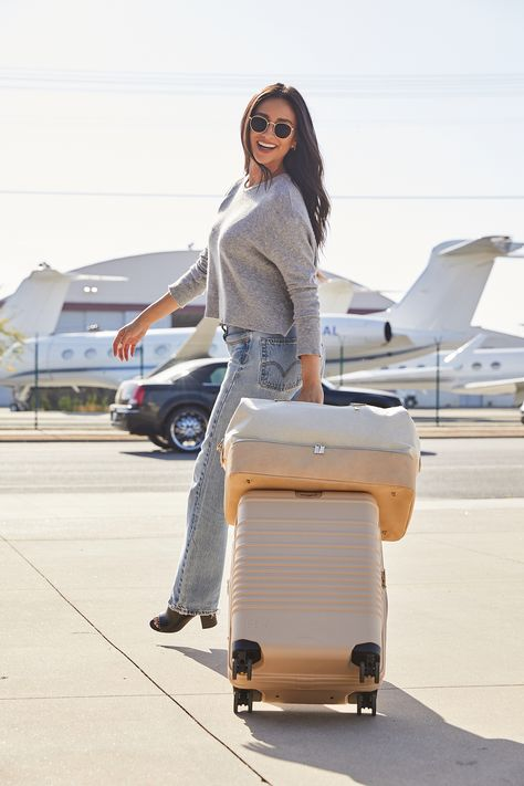 Shay Mitchell Just Designed the Perfect Luggage for Traveling — and It's Surprisingly Affordable