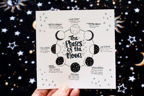 @cosmic.heartistry #moon #moonart #phasesofthemoon #moonmagic #moonphase #moonmagic #bookofshadows #grimoire