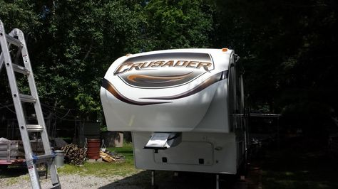Remove And Replace Front Cap For Prime Time Crusader 5th Wheel