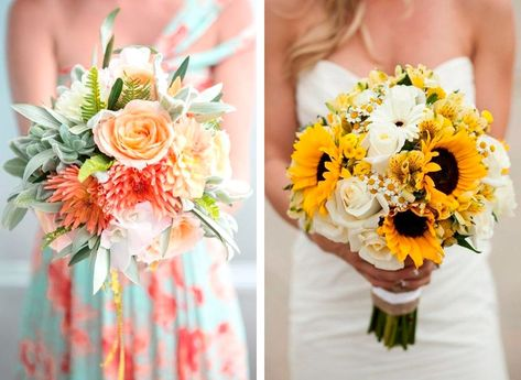 Bouquet Sposa Girasole.Bouquet Sposa Come Scegliere Il Bouquet Per Il Matrimonio