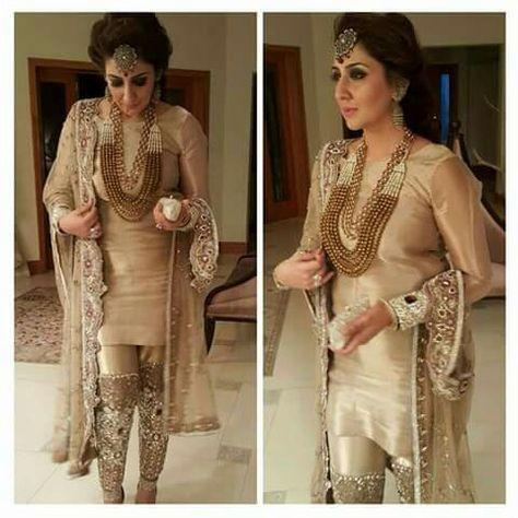 4b8753adf7a Pakistani Designer Saadia Mirza s -The Nur ul Aine Bridal Wear ...