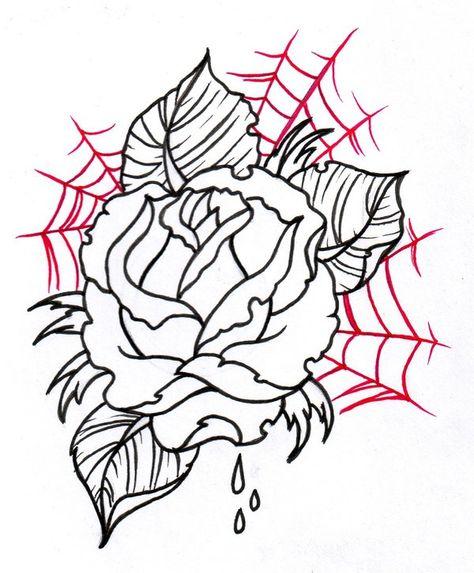 Pin De Galego757 En Desenhos Tattoo Boceto De Rosa Tatuajes De