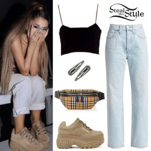 Ariana Grande No Tears Left To Cry Video Outfits Steal Her