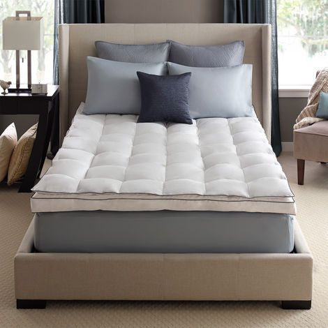 Down On Top Feather Bed Mattress Topper Queen Luxury Mattresses Mattress Mattress Topper