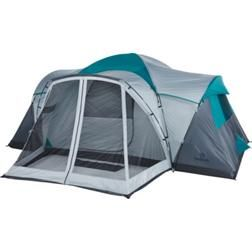 Magellan Outdoors Grand Ponderosa 10 Person Family Cabin Tent Tent Cabin Tent Screened Porch