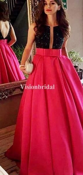 Charming Scoop Neckline Black Top V-Back A-Line Satin Prom Dresses, VB03669 #promdressesmermaid #promdressessimple #promdressesballgown #pro    You finally found the right silk dress - the one which you've always envisioned, come your right when you in the boutique window. Silk ... #Aline #Black #Charming #Dresses #neckline #Prom #satin #Scoop #silk dress chic #silk dress midi #silk dress outfit #silk dress vintage #silk prom dress #silk skirt outfit #silk wedding dress #Top #VB03669 #VBack
