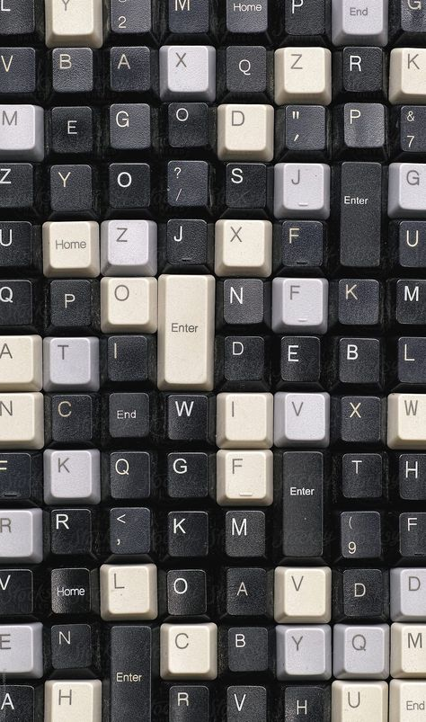 Wallpaper Iphone - Collection of old computer keyboard keys by Marcel - Stocksy . - PORTFOLIO - Wallpaper Iphone – Collection of old computer keyboard keys by Marcel – Stocksy …- -