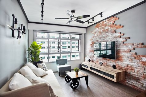 HDB BTO 5 Room @ Punggol Walk Project By: FREE SPACE INTENT PTE LTD (FSI) |  거실 | Pinterest | Estou Bem, Sala De Estar E Salas Part 52