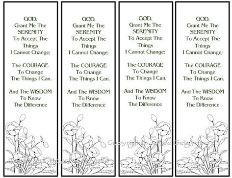 image about Free Printable Serenity Prayer named Listing of Pinterest serenity prayer coloring website page free of charge