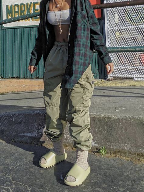Cute Swag Outfits, Cute Comfy Outfits, Tomboy Outfits, Tomboy Fashion, Retro Outfits, Grunge Outfits, Streetwear Fashion, Vintage Outfits, Style Fashion