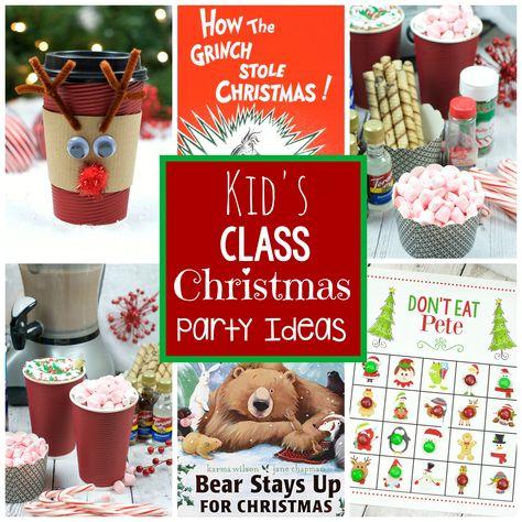 Children Christmas Party Ideas.25 Kids Christmas Party Ideas Christmas School Christmas