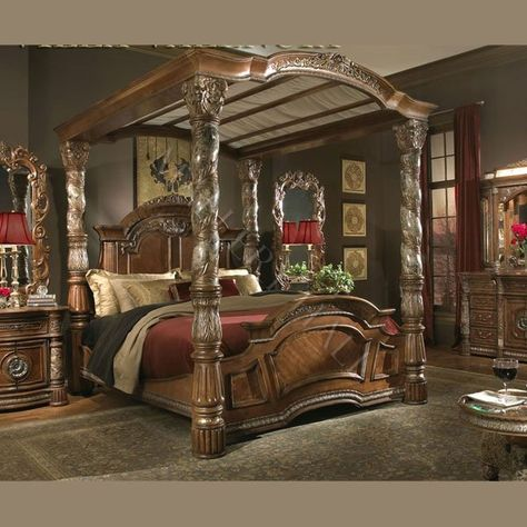 Super Huge Canopy Bed Master Bedroom Tdf Enough Said For The
