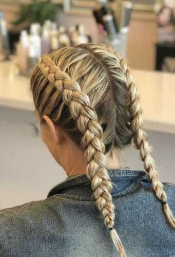 Braids are one of the most popular hairstyles of the decade, but do you know wha. Braids are one of the most popular hairstyles of the decade, but do you know what all the different types of braids are? Find out now. Box Braids Hairstyles, Popular Hairstyles, Simple Hairstyles, Pretty Hairstyles, Woman Hairstyles, Hairstyles Pictures, Holiday Hairstyles, Hairstyles 2016, Wedding Hairstyles