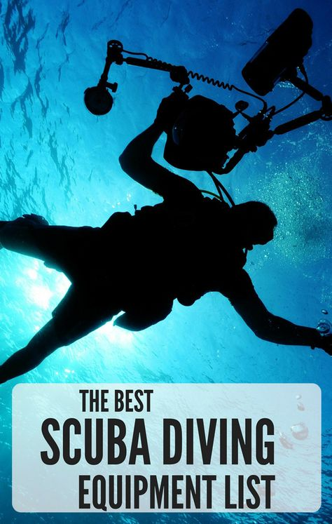 The Best Scuba Diving Equipment List. Don't forget anything on your next dive trip. Ultimate Diving Gear List.