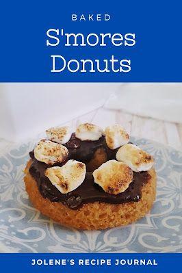 S'mores Donuts #SummerDessertWeek