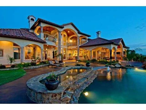 Beautiful homes on pinterest 45 pins for Beautiful million dollar homes