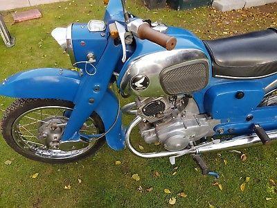 Ebay Honda C92 Benly 125 1962 Honda Harley Davidson Motorcycles Motorcycle