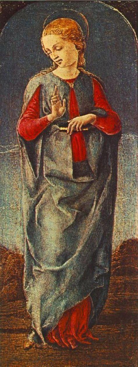 Jungfrau Maria von  Cosme Tura
