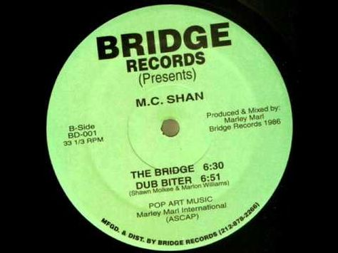 MC Shan - The Bridge 1986 the start of the 1st rap battle on wax...