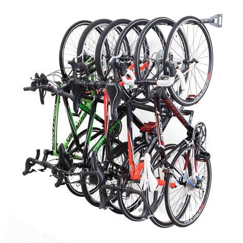 Monkey Bars 51 in. 6-Bike Storage Rack