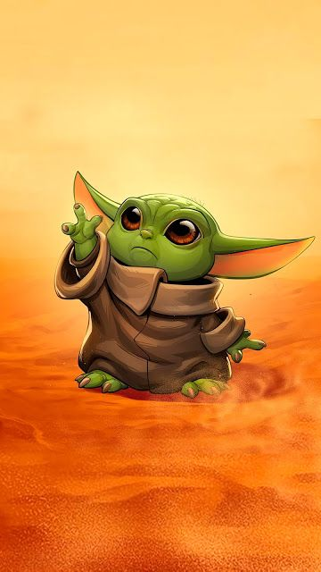 """The child """"Baby Yoda"""" phone wallpaper collection 