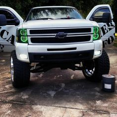 chevy trucks jacked up camo - Google Search