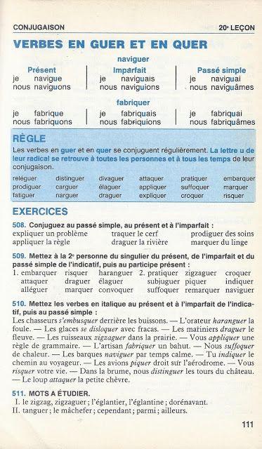 Bled Cours D Orthographe Cours Moyen Classes De 6e Et 5e 1985 En 2020 Orthographe Passe Simple 6e