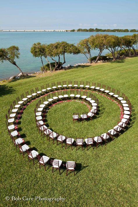 Creative Waterfront Wedding Ceremony at Hawks Cay Resort