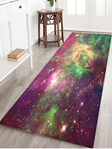 Galaxy Star Pattern Water Absorption Area Rug Rugs On Carpet