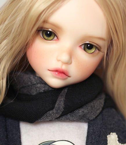face make up resin toy Female Dolls Bjd 1//3 Doll Girl free eyes