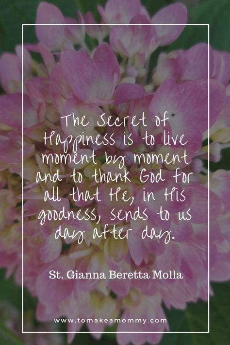Praying to Saint Gianna Beretta Molla for Fertility - To Make a Mommy