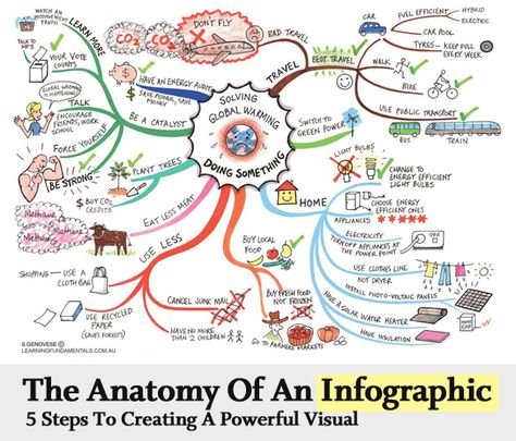 The Anatomy Of An Infographic: 5 Steps To Create A Powerful Visual