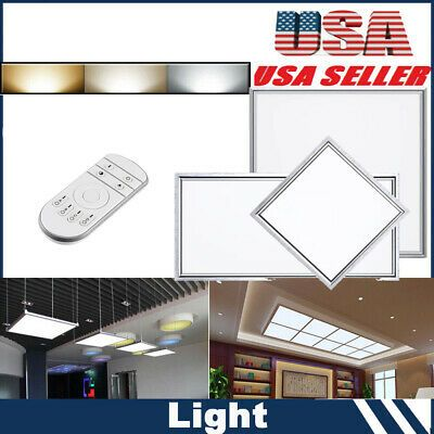 Details About 30 60 120 64 12w Recessed Led Panel Light Smd