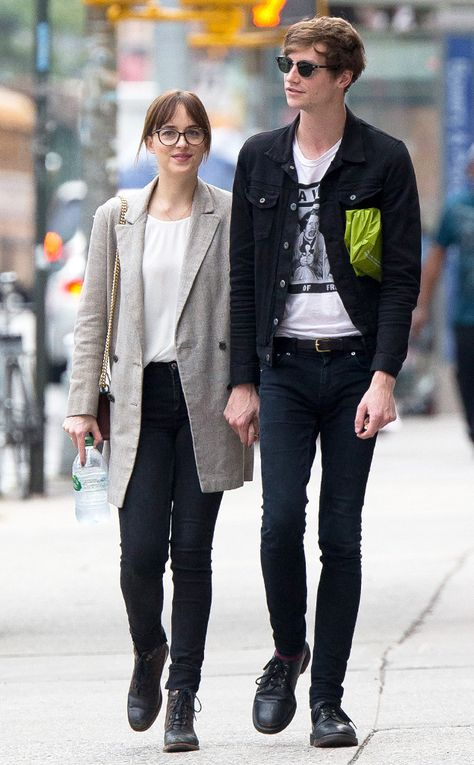 Dakota Johnson & Matthew Hitt from The Big Picture: Today's Hot Pics  Cute couple alert! The two hold hands while walking in the Big Apple.
